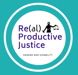 ReaL Productive Justice Gender and Disability Logo